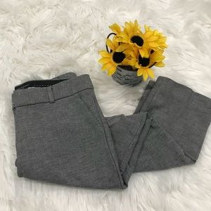 Banana Republic Sloan Fit Gray Dress Skinny Capri